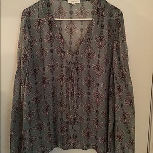 Maurice's Bell Sleeve Top